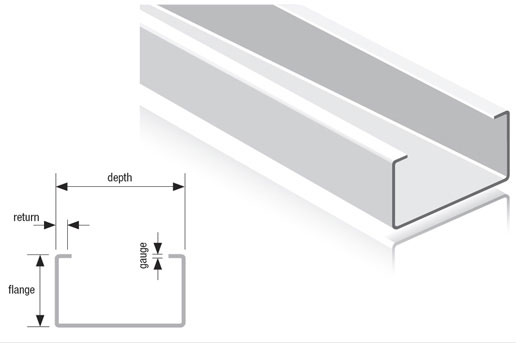SFS C Studs | Drywall Steel Sections