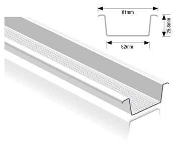 Ceiling Channel Drywall Steel Sections